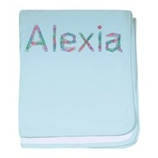Alexia Paper Clips baby blanket