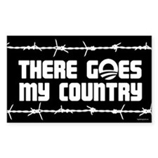 There goes my country Decal