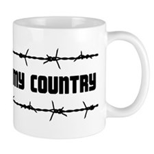 There goes my country Mug