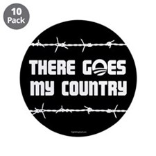 "There goes my country 3.5"" Button (10 pack)"