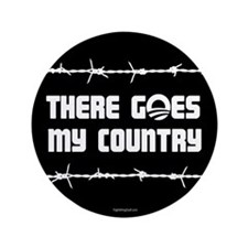 "There goes my country 3.5"" Button (100 pack)"