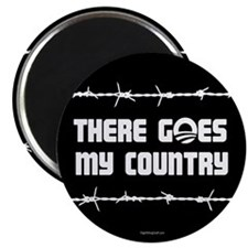 "There goes my country 2.25"" Magnet (100 pack)"