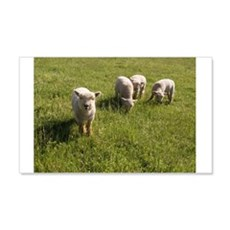 Friendly Lamb Wall Decal