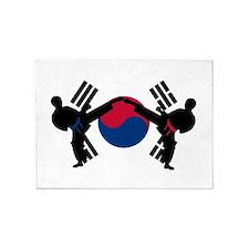 Tae Kwon Do 5'x7'Area Rug
