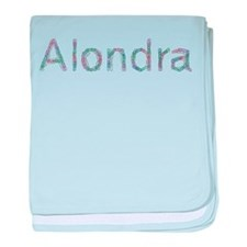 Alondra Paper Clips baby blanket