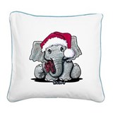 Elephant Square Canvas Pillows
