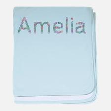 Amelia Paper Clips baby blanket