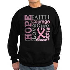 Breast Cancer Hope Courage Jumper Sweater