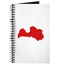 Latvia map Journal