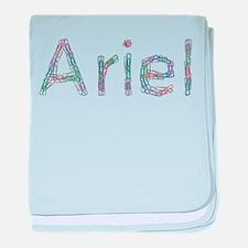 Ariel Paper Clips baby blanket