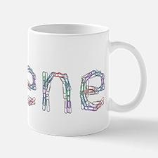 Arlene Paper Clips Mug