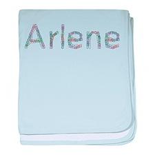 Arlene Paper Clips baby blanket