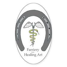 Farriery Healing Art Decal