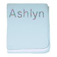 Ashlyn Paper Clips baby blanket