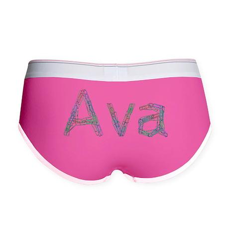 Ava Paper Clips Women's Boy Brief