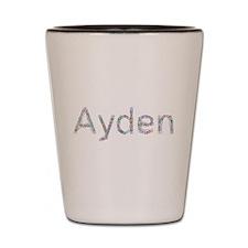 Ayden Paper Clips Shot Glass
