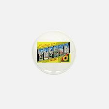 Topeka Kansas Greetings Mini Button (10 pack)