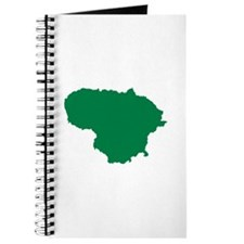 Lithuania map Journal