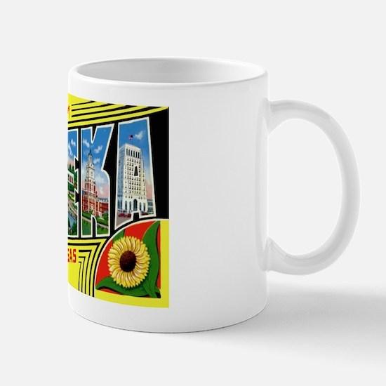 Topeka Kansas Greetings Mug