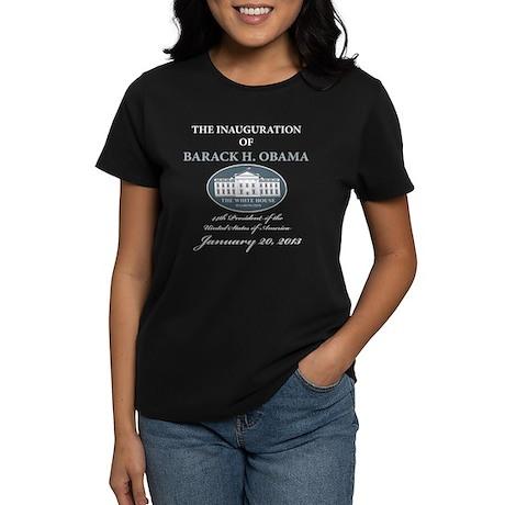 2013 Obama inauguration day Women's Dark T-Shirt