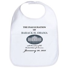 2013 Obama inauguration day Bib