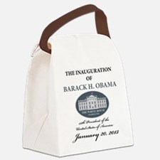 2013 Obama inauguration day Canvas Lunch Bag