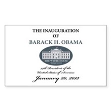 2013 Obama inauguration day Decal