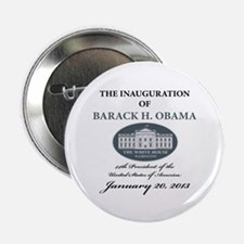 """2013 Obama inauguration day 2.25"""" Button (100 pack"""