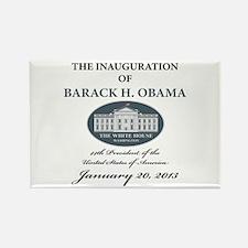 2013 Obama inauguration day Rectangle Magnet
