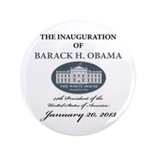 "2013 Obama inauguration day 3.5"" Button"