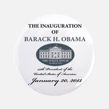 """2013 Obama inauguration day 3.5"""" Button (100 pack)"""