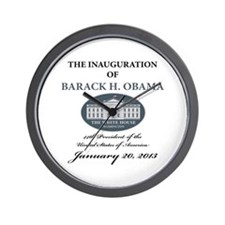 2013 Obama inauguration day Wall Clock
