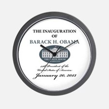 2013 Obama inauguration day Wall Clock