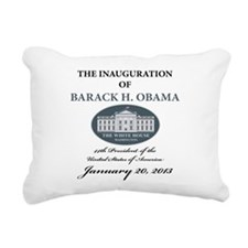 2013 Obama inauguration day Rectangular Canvas Pil