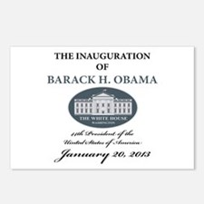 2013 Obama inauguration day Postcards (Package of