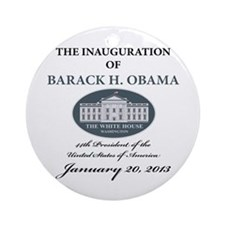 2013 Obama inauguration day Ornament (Round)