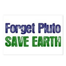 Forget Pluto Save Earth Postcards (Package of 8)