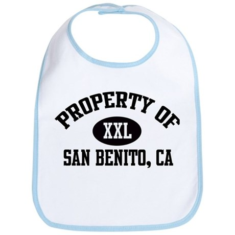 Property of SAN BENITO Bib