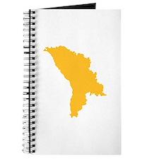 Moldova map Journal