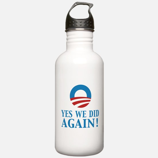2013 Obama inauguration day Water Bottle