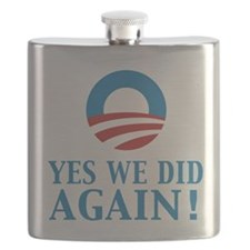 2013 Obama inauguration day Flask