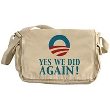 2013 Obama inauguration day Messenger Bag