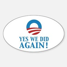2013 Obama inauguration day Sticker (Oval)