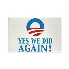 2013 Obama inauguration day Rectangle Magnet
