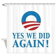 2013 Obama inauguration day Shower Curtain