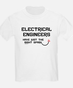 Electrical Engineers Sparks Kids T-Shirt