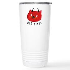 Bad Kitty Travel Mug