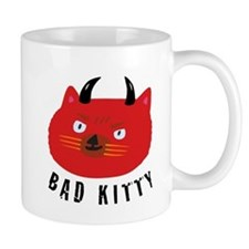 Bad Kitty Small Mug
