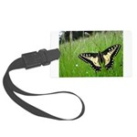 Anise Swallowtail Butterfly Large Luggage Tag