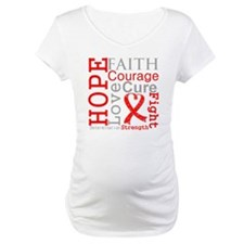 Blood Cancer Hope Courage Shirt